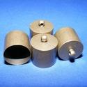 Bőrvég (42 minta/1 db) - 16x14 mm, Gyöngy, ékszerkellék, Ékszerkészítés,  Bőrvég és szalagvég (42 minta) - antik bronz színben  Mérete: 16x14 mm Belső átmérő: 13,5 mm  Az á..., Alkotók boltja