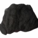 Festett gyapjú (50 g) - fekete, Textil, Varrás,  Festett gyapjú - fekete  Kiszerelés: 50 g Többféle színben.Az ár 50 g termékre vonatkozik. , Alkotók boltja