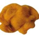 Festett gyapjú (50 g) - narancssárga, Textil, Varrás,  Festett gyapjú - narancssárga  Kiszerelés: 50 g Többféle színben.Az ár 50 g termékre vonatkozik. , Alkotók boltja
