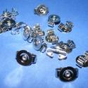 Amerikai nyakkendő alap tárcsás (412/D minta/1 db)  , Gyöngy, ékszerkellék, Ékszerkészítés,  Amerikai nyakkendő alap tárcsás (412/D minta/1 db)   Az alapra az  ízlésednek és elképzelésednek..., Alkotók boltja