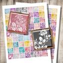 Csipkék - nyomtatható négyzet alakú képek , Papír, Vegyes alapanyag, Csipkék - nyomtatható, négyzet alakú képek  Min. 5 termék rendelésekor 400 Ft / kollázs !  ***  Mit ..., Alkotók boltja