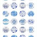 Nyomtatott ékszerpapír orosz népi motívumokkal , Papír, Decoupage papír, Alkotók boltja