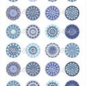 Mandala képek ékszerkészítéshez - nyomtatható mintaív, Papír, Alkotók boltja