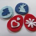 Kreatív készlet 10 db húsvéti filc figura készítéséhez , Csináld magad leírások, Egységcsomag, Alkotók boltja