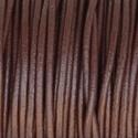 B 112, Fonal, cérna, Bőrművesség, Bőrszál, Hengerelt barna színű bőrvég. 2mm. 500 Ft/m., Alkotók boltja