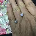 Gyűrűalap (acél), Gyöngy, ékszerkellék, Egyéb alkatrész, Összesen 5 db van belőle, az ár 1 db-ra vonatkozik. , Alkotók boltja