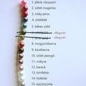 üveg tekla gyöngy 6mm, Gyöngy, ékszerkellék, Üveggyöngy, 6 mm átmérőjű üveg tekla gyöngy többféle színben. Az ár 100 darab gyöngyre vonatkozik (ez..., Alkotók boltja