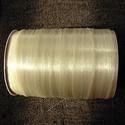 gumis damil gyöngyfűzéshez, Gyöngy, ékszerkellék, Damil, Gumi gyöngyfűzéshez. 0,4 mm vastag (kiváló a legkisebb lyukú gyöngyökhöz is, pl. kásagyöngyhöz is!))..., Alkotók boltja