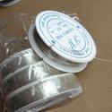 aluminium drót 0,3, Gyöngy, ékszerkellék, Drót, alumínium drót 0,3 mm vastag Az ár 20 méterre vonatkozik (ez egy tekercs).  , Alkotók boltja