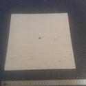 Óra alap - 25x25 cm, Órakészítés, Óralapok, Famegmunkálás, Egyéb fa, Pirogravírozás, Nyír rétegelt lemezből készült falióra alap.   Vastagsága: 4 mm  Súlya: 150 g     -A 23cm-t meghala..., Alkotók boltja