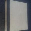 A/4 -es rétegelt lemez alap, Fa, Rétegelt lemez, fa alap, Famegmunkálás, Egyéb fa, Pirogravírozás, Nyír rétegelt lemezből készült A/4-es fa-alap  Mérete: A/4 - 297 x 210  Vastagsága: 4 mm  Súlya: 15..., Alkotók boltja
