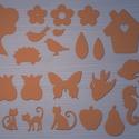 Többféle dekoratív alak, Vegyes alapanyag, Dekorgumi, Dekorgumi, Többféle dekoratív alak  Többféle ábra dekorációs célra! mérete átlagosan 10x10cm.  Anyaga dekorgum..., Alkotók boltja