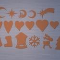 Többféle dekoratív alak, Vegyes alapanyag, Dekorgumi, Dekorgumi, Többféle ábra dekorációs célra! mérete átlagosan 10x10cm.  Anyaga dekorgumi lap. Többféle színben i..., Alkotók boltja