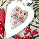 Keresztszemes minta / Cross stitch pattern, DIY (leírások), Szabásminta, útmutató, Hímzés, Mindenmás, Nagyon szeretem a szezonális dekorációkat, amelyek hangulatukkal az éppen aktuális   hónaphoz, vagy..., Alkotók boltja