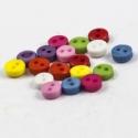ACIÓ 100 db MINI, apró színes 6mm-es gomb, Gomb, Műanyag gomb, Varrás, Gomb, Élénk színű mini gombok az 1. képen látható színekben.  Métere: 6 mm  A csomag ára 100 db gombra vo..., Alkotók boltja