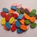 HAND MADE feliratú fa gombok - 10 db gomb, Gomb, Dekorációs kellékek, Varrás, Famegmunkálás, Gomb, Hand made feliratú festett fa gombok szép színekben. Kézzel készített alkotásokhoz kiváló lehet! :)..., Alkotók boltja