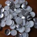Behúzható gomb alap szett (40-es méret), Gomb, 40-es méretű behúzható gomb alapok.   1 csomag tartalma 23 db.  Ha kisebb mennyiséget szeretnél belő..., Alkotók boltja