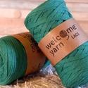 Welcome Yarn szalagfonal zöld, Fonal, cérna, Pamutfonal, Kötés, horgolás, A szalagfonal egy könnyű, 100%-ban újrahasznosított textilből készült fonal, amely 80%-ban pamut, 2..., Alkotók boltja
