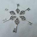 Viktoriánus kulcsok - 40mm - 6db, Gyöngy, ékszerkellék, Egyéb alkatrész, Alkotók boltja