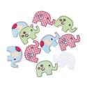 Cuki elefánt formájú gombok vegyes színekben, Dekorációs kellékek, Gomb, Cuki elefánt formájú gombok vegyes színekben Mérete: 29 mm x 20 mm 10 db/ csomag Ára: 340 Ft/ ..., Alkotók boltja