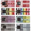 AKCIÓ!!!! 12x1m design mintás szalagok dobozban, Textil, Szalag, pánt, Varrás, Mindenmás, Szalag, AKCIÓ!!!!!!!! A doboz ára most AKCIÓSAN 1.850 Ft helyett 1.690 Ft  Gyönyörű design mintás szalag vá..., Alkotók boltja
