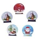 Hógömb mintájú és formájú fa formagomb, Dekorációs kellékek, Gomb, Hógömb mintájú és formájú karácsonyi fa gomb Mérete: 30 mm 10 db / csomag Ára: 400 Ft/csom..., Alkotók boltja