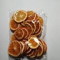 Szárított narancs, Dekorációs kellékek, Szárított narancs szeletek. A képen látható mennyiség., Alkotók boltja