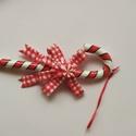 Karácsonyi nyalóka, Dekorációs kellékek, Figurák, Mindenmás, Dekorációs célra, műanyag nyalóka. 6,5*16,5cm, Alkotók boltja