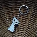 Kulcstartó/ Cica, Cicás kulcstartó    10 cm a cica mérete:4,5 cm az ár 1 db-ra vonatkozik, Alkotók boltja