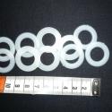 Körbehorgolható karika, A karika belső átmérője 15 mm, a külső 27 mm...