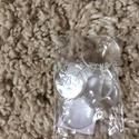 Kerek üveglencse, Üveg, Decoupage, szalvétatechnika, Decoupage alap, Lapos hátú 18 mm átmérőjű, kerek üveglencse, Alkotók boltja