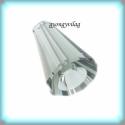 Swarovski artemis 12mm-es 1db GYSWGY A12  black diamond, Gyöngy, ékszerkellék, Swarovski kristályok, Eredeti swarovski kristály hosszában fúrt artemis . Szín:back diamond Méret:12mm 1db  Az ár eg..., Alkotók boltja