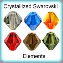 Swarovski bicon 3mm-es  több színben GYSWGY B3 , Gyöngy, ékszerkellék, Swarovski kristályok, Eredeti  swarovski kristály bicon több színben. Szín: több színben Méret:3mm   Az ár egy darabra von..., Alkotók boltja
