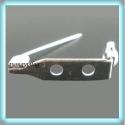 boss alap, kitűző alap    BEK 03 10 db/ csomag, Gyöngy, ékszerkellék, Egyéb alkatrész, Bross-, kitűző alap. Az alap varható, ragasztható.   10 db /csomag    FIGYELEM: A meska által kiszám..., Alkotók boltja