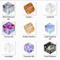 Swarovski kocka 6mm-es AB bevonatos  több színben, Gyöngy, ékszerkellék, Swarovski kristályok, Ékszerkészítés, Gyöngy, SWAROVSKI KRISTÁLY KOCKA,AB-BEVONATOS TÖBB SZÍNBEN !   Méret:6mm  Az ár 1db kocka   A színtáblázato..., Alkotók boltja