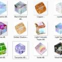 Swarovski kocka 4mm-es AB bevonatos  több színben, Gyöngy, ékszerkellék, Swarovski kristályok, Ékszerkészítés, Gyöngy, SWAROVSKI KRISTÁLY KOCKA,AB-BEVONATOS TÖBB SZÍNBEN !   Méret:4mm  Az ár 1db kocka   A színtáblázato..., Alkotók boltja
