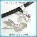 925-ös ezüst medálkapocs EMK 38, Gyöngy, ékszerkellék, Egyéb alkatrész, 925-ös fémjellel ellátott valódi ezüst (bevizsgált)medálkapocs.  Az ár 1db kapocsra vonatkozik.  A m..., Alkotók boltja