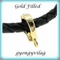 Gold Filled  medáltartó EMT 14G , Gyöngy, ékszerkellék, Egyéb alkatrész, Ékszerkészítés, Mindenmás, Szerelékek, 14K arannyal bevont (gold filled) 925-ös ezüst    Az ár 1db medál tartóra vonatkozik.   A Gold Fill..., Alkotók boltja
