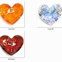 """Swarovski """"Truly in Love"""" szív18mm-es medál , Gyöngy, ékszerkellék, Swarovski kristályok, Ékszerkészítés, Gyöngy, SWAROVSKI KRISTÁLY """"Truly in Love"""" SZÍV MEDÁL!  Méret:18mm  Az ár egy darabra vonatkozik!  A színtá..., Alkotók boltja"""