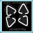 925-ös ezüst medálkapocs EMK 24   5x6x2  4db /csomag, Gyöngy, ékszerkellék, Egyéb alkatrész, Ékszerkészítés, Gyöngy, 925-ös fémjellel ellátott valódi ezüst (bevizsgált)medálkapocs.  4db/csomag  Méret:5x6x2  A medálka..., Alkotók boltja