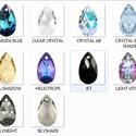 Swarovski csepp 28 mm-es több színben , Gyöngy, ékszerkellék, Swarovski kristályok, SWAROVSKI KRISTÁLY CSEPP TÖBB SZÍNBEN !  Méret:28mm  Az ár egy darabra vonatkozik!  A színtáblázatot..., Alkotók boltja