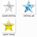 Swarovski csillag 20 mm-es több színben , Gyöngy, ékszerkellék, Swarovski kristályok, SWAROVSKI KRISTÁLY CSILLAG MEDÁL, TÖBB SZÍNBEN !  Méret:20 mm  Az ár egy darabra vonatkozik!  A szín..., Alkotók boltja