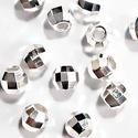 925-ös ezüst köztes/gyöngy/díszitőelem  EKÖ 15 2,5mm, Gyöngy, ékszerkellék, Fém köztesek, EKÖ 15   925-ös valódi  ezüst (bevizsgált) köztes / gyöngy / díszitőelem .  2,5mm-es  5 db ..., Alkotók boltja
