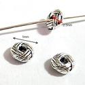 925-ös ezüst köztes/gyöngy/díszitőelem  EKÖ 24, Gyöngy, ékszerkellék, Fém köztesek, EKÖ 24   925-ös valódi  ezüst (bevizsgált) köztes / gyöngy / díszitőelem .    1 db / csomag    Az ez..., Alkotók boltja