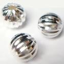 925-ös ezüst köztes/gyöngy/díszitőelem  EKÖ 17, Gyöngy, ékszerkellék, Fém köztesek, Ékszerkészítés, Mindenmás, Szerelékek, EKÖ 17   925-ös valódi  ezüst (bevizsgált) köztes / gyöngy / díszitőelem .    1db / csomag    Az ez..., Alkotók boltja