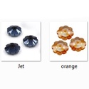 Üveggyöngy- margaréta 10mm több színben, Gyöngy, ékszerkellék, Kásagyöngy, Margaréta középen fúrt csiszolt üveggyöngy több színben   Az ár 6db-ra vonatkozik.   A 6 da..., Alkotók boltja
