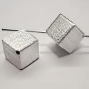 925-ös sterling ezüst medál / pandora EM-P 05  , Gyöngy, ékszerkellék, Fém köztesek, EM-P 05   925-ös valódi ezüst (bevizsgált) medál, pandóra lánc-karkötő készítéséhez .  1 db / csomag..., Alkotók boltja