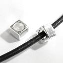 925-ös sterling ezüst medál / pandora EM-P 20, Gyöngy, ékszerkellék, Fém köztesek, EM-P 20  925-ös valódi ezüst (bevizsgált) medál, pandóra lánc-karkötő készítéséhez .  1 db / csomag ..., Alkotók boltja