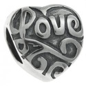 925-ös sterling ezüst medál / pandora EM-P 18, Gyöngy, ékszerkellék, Fém köztesek, EM-P 18  925-ös valódi ezüst (bevizsgált) medál, pandóra lánc-karkötő készítéséhez .  1 db / csomag ..., Alkotók boltja
