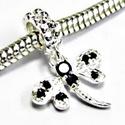 925-ös sterling ezüst medál / pandora EM-P 26, Gyöngy, ékszerkellék, Fém köztesek, EM-P 26  925-ös valódi ezüst (bevizsgált) medál, pandóra lánc-karkötő készítéséhez .  1 db / csomag ..., Alkotók boltja